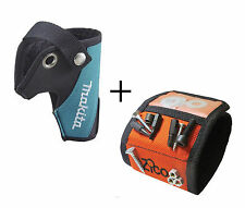 Makita BOSCH 10.8 Holster Pouch Tool + Magnetic Wristband Nails Screws Brand New