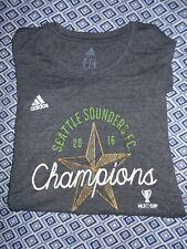 Seattle Sounders Womens Small 2016 Champions Adidas Shirt