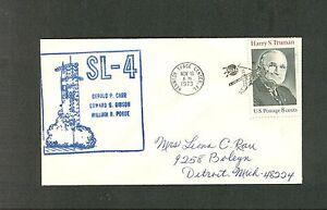 SKYLAB 4 LAUNCH SL-4 11/16/1973 KENNEDY SPACE CENTER NICE PICTORIAL CANCEL