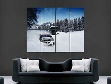 LANCIA  DELTA INTEGRALE RALLY CLASSIC CAR  HUGE LARGE WALL ART POSTER PICTURE