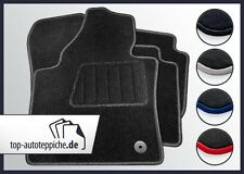 Seat Ibiza 6L 100% passform Fussmatten Autoteppiche Schwarz Silber Rot Blau