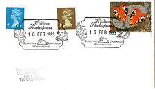 16 FEBRUARY 1993 WILLIAM SHAKESPEARE STRATFORD UPON AVON SHS