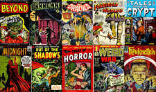260 Issues Golden Age Horror Comics on DVD – D2