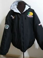 Bass Pro Shops 2010 #1 Daytona 500 Winner Red Head Quilted Jacket Size Large