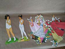 Vintage 1960s Paper Dolls