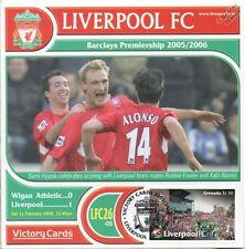 Liverpool 2005-06 Wigan (Sami Hyypia) Football Stamp Victory Card #526