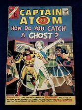 CAPTAIN ATOM 82 1st Appearance NIGHTSHADE Charlton Comics Steve Ditko 1966 VG