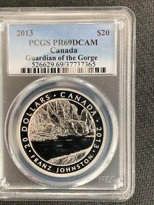 2013 Canada $20 Guardian of the Gorge / PCGS PR69DCAM / 1 Oz Silver *No Reserve!