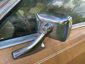 73-78 1973-1978 Ford LTD Mercury Galaxie Remote Mirror Driver Side