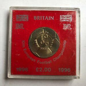 UK Britain GB 1996 Commemorative 2 Pounds  (ME17/H2)