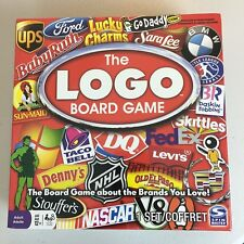 The Logo Board Game By Spin master Games Ages 12+ Adult Version