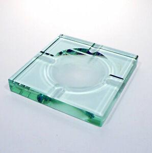 Posacenere in cristallo molato art deco' anni 40 vintage v238