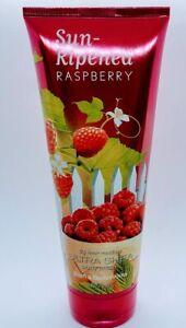 Bath and Body Works Sun Ripened Raspberry Body Cream 8 fl oz NEW