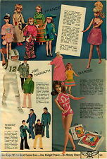 1970 PAPER AD Doll Francie Twist Turn Joe Namath Broadway Jointed Vinyl Barbie