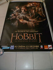 AFFICHE THE HOBBIT DESOLATION OF SMAUG 4x6 ft Bus Shelter Poster Original 2013