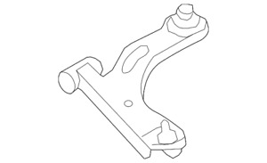 Genuine Ford Lower Control Arm 6L8Z-3079-AA