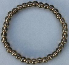 "Bracelet Quartz fumé 6 mm ""Médium"""