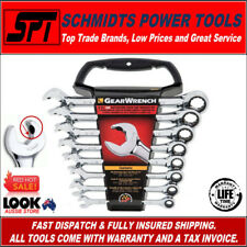 GEARWRENCH 85599 SAE OPEN END RATCHETING WRENCH SET 8 PIECE SPANNER SET 12 PT