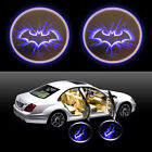 2PCS LED Car Door Step Welcome Batman Logo Projector Laser Ghost Shadow Light