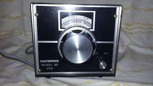 Vintage Siltronix External VFO Model 80 for CB Radio