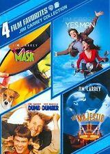 4 Film Favorites Jim Carrey 0883929136353 DVD Region 1 P H
