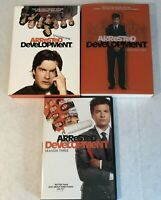 Arrested Development Seasons 1, 2, and 3 DVD box sets 1-3 lot