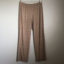 Chico's Easywear Biege Pull On Lounge Pants Women's 2