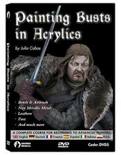 Andrea Miniatures Painting Busts by Julio Cabos DVD Step by step