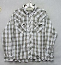 Z7582 Men's Gotcha Button Down Long Sleeve-Large