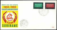 Suriname 1966 ICEM, European Migration FDC First Day Cover #C35503