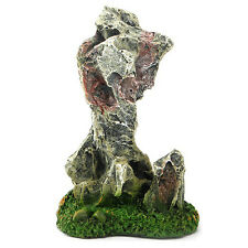New Fish Tank Fake Rock Artificial Resin Mountain Aquarium Moss Stone Ornaments