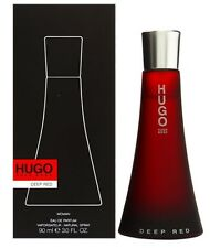 Hugo Boss Deep Red Women 3.0 3 OZ 90 ML Eau De Parfum Spray Nib Sealed