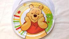 Piatto Piano 21cm Winnie the Pooh - Disney Originale - Melanina Nuovo