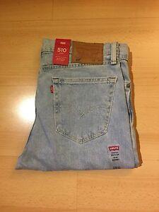 Levi's Men's Denim Jeans 510 Skinny Fit Sits Below Waist Color Thomas BNWT