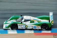 """Le Mans Driver Guy Smith Hand Signed Photo Mazda Autograph 12x8"""" AA"""