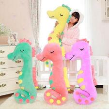 Plush Toy Hippocampus 40CM Pillow Sea Horse Doll Birthday Gift Stuffed Cushion