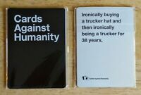 5-CARD RETAIL PACK Cards Against Humanity CAH 2 Black 3 White NOT A REPLICA