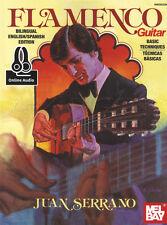 Chitarra Flamenca tecniche di base Scheda Libro di musica con audio imparare a suonare metodo