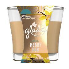 Glade Vanilla Candle Merry Fun 3.4oz 96g