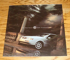 Original 1995 Volkswagen VW Passat Deluxe Sales Brochure 95