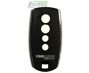4 channel King Gates STYLO 4 K remote control - works with Master.Way