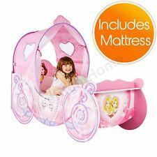 Disney Princess Lit Enfant Bébé + Fibre Matelas Rose Distribution