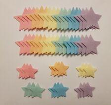 x 54 Felt Star Embellishments. die cuts