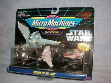 Return Jedi Shuttle Tyderium A-Wing Speeder STAR WARS MicroMachines Collection 6