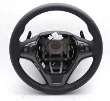 OEM Hyundai Genesis Coupe Black Leather Steering Wheel With Paddle Shift