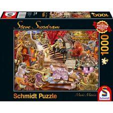NEW! Schmidt Music Mania by Steve Sundram 1000 piece fantasy jigsaw puzzle