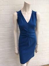$1,900 Emilio Pucci MOST WANTED Blue Wool Shift Dress I 38 UK 6 US 4