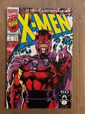X-MEN #1 MAGNETO COVER D FIRST PRINT MARVEL COMICS (1991) JIM LEE WOLVERINE