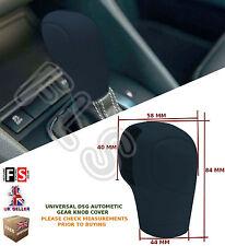UNIVERSAL AUTOMATIC CAR DSG SHIFT GEAR KNOB COVER PROTECTOR BLACK–MG