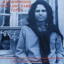 JIM MORRISON OF THE DOORS LOST PARIS TAPES POETRY CD +